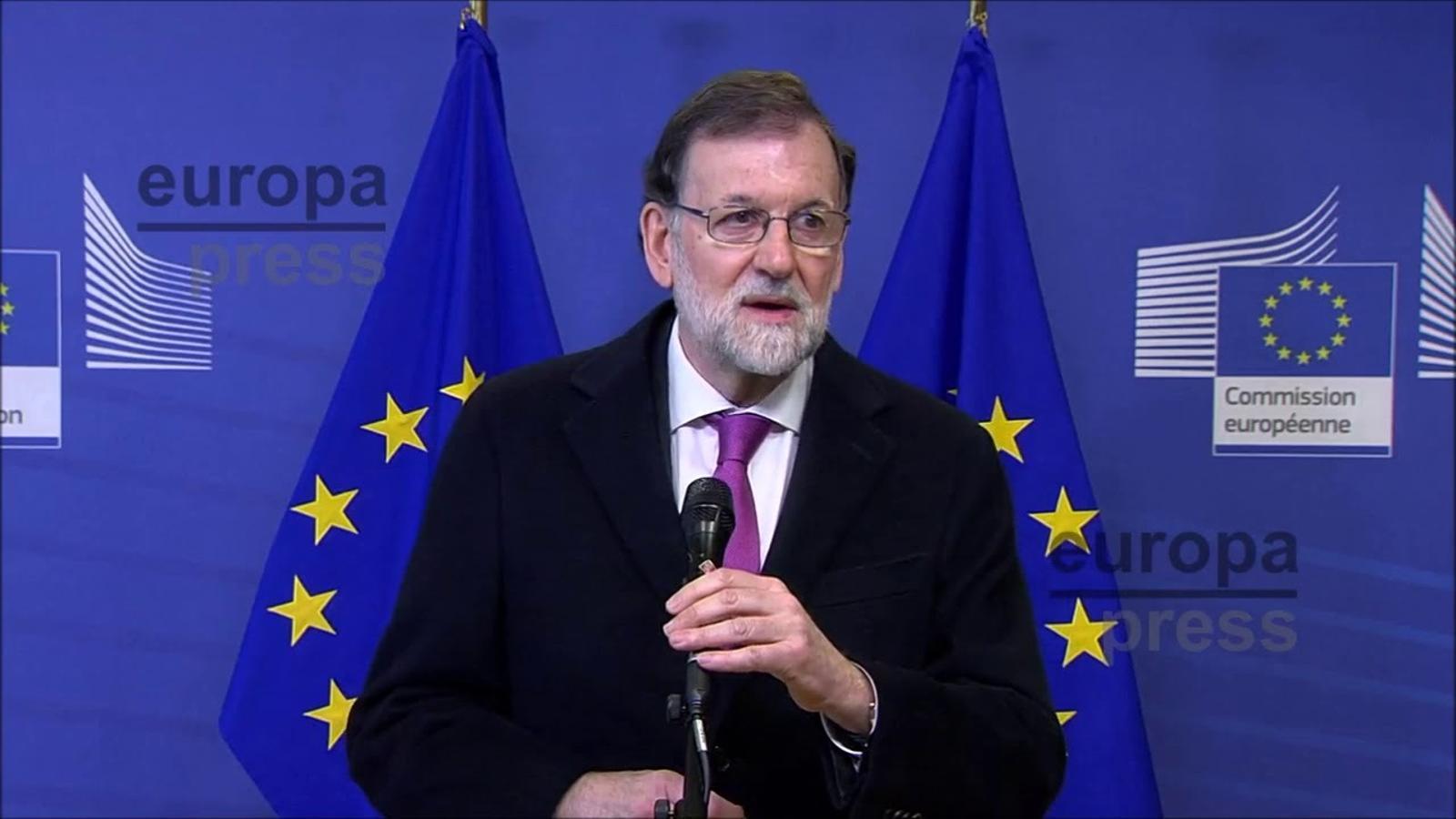 Rajoy s'embarbussa enumerant els països que formen el Sahel