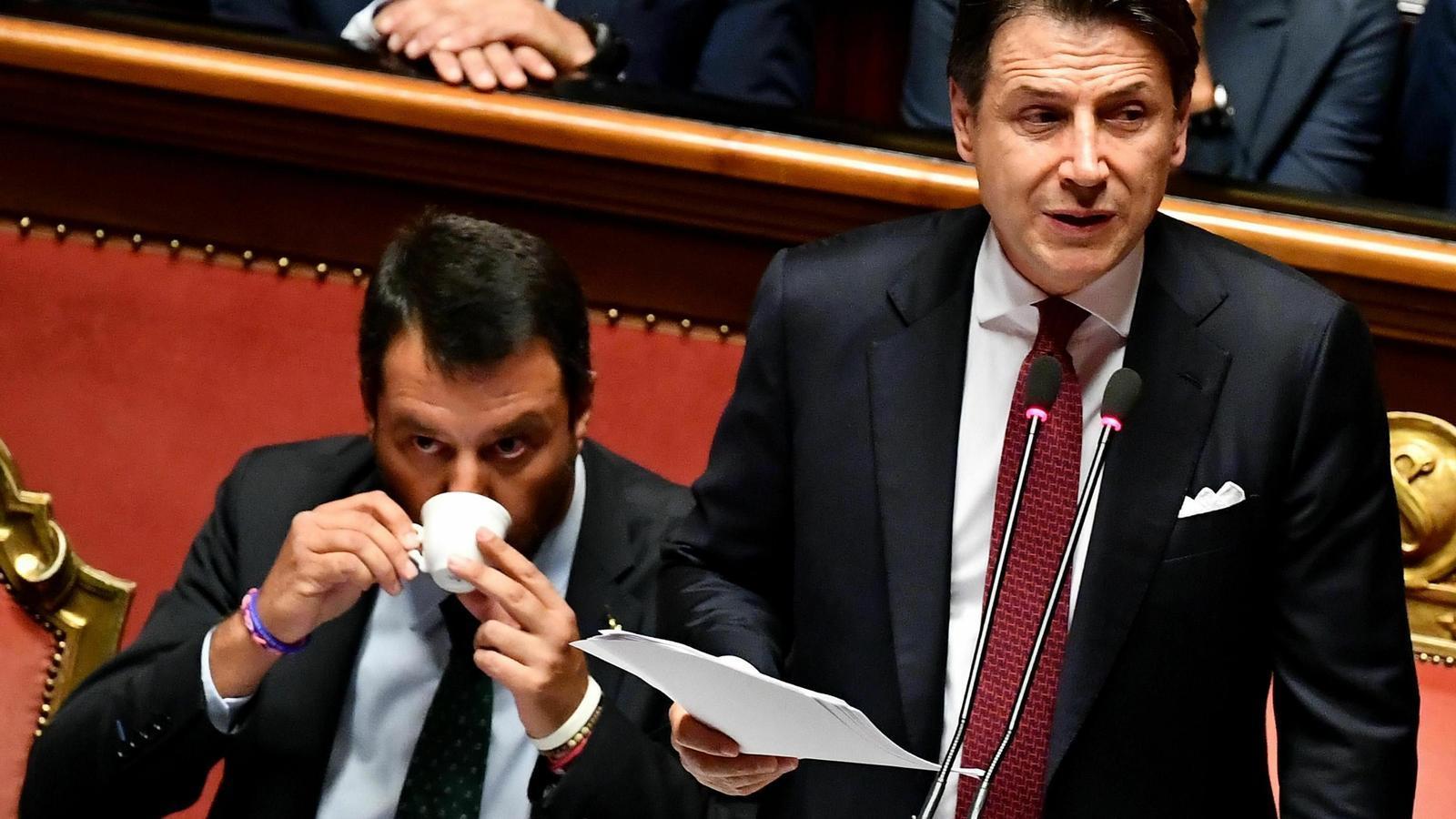Salvini aconsegueix la renúncia del primer ministre