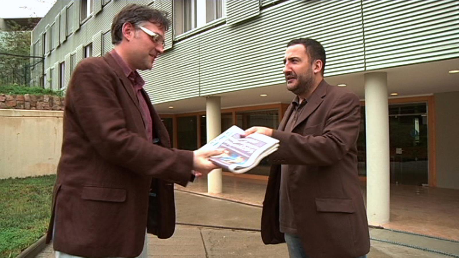 El subscriptor Jordi Vilaró a Toni Soler: Qui ho havia de dir que als 40 anys trobaríem un diari!