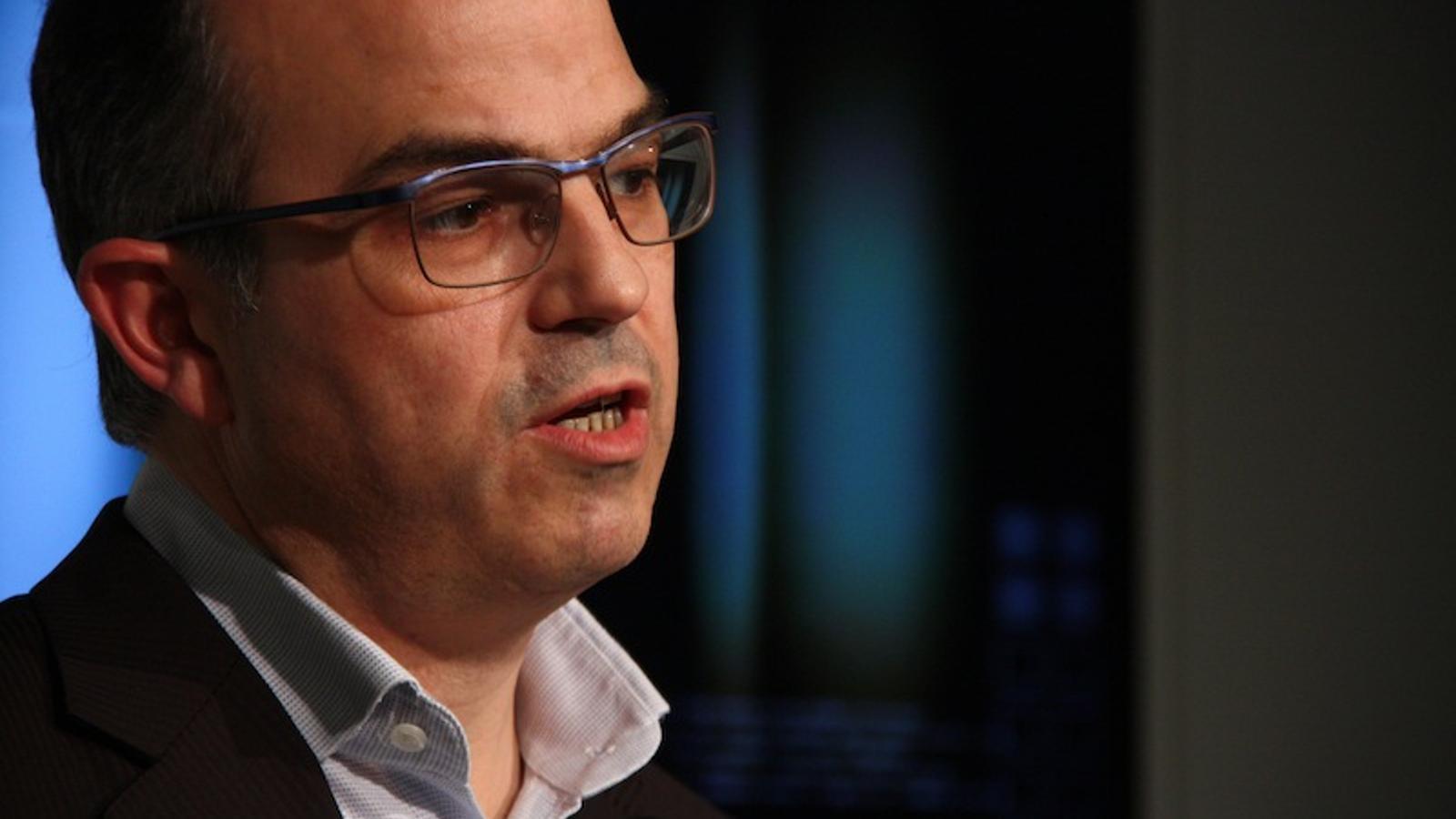 El president del grup parlamentari de CiU, Jordi Turull / ACN