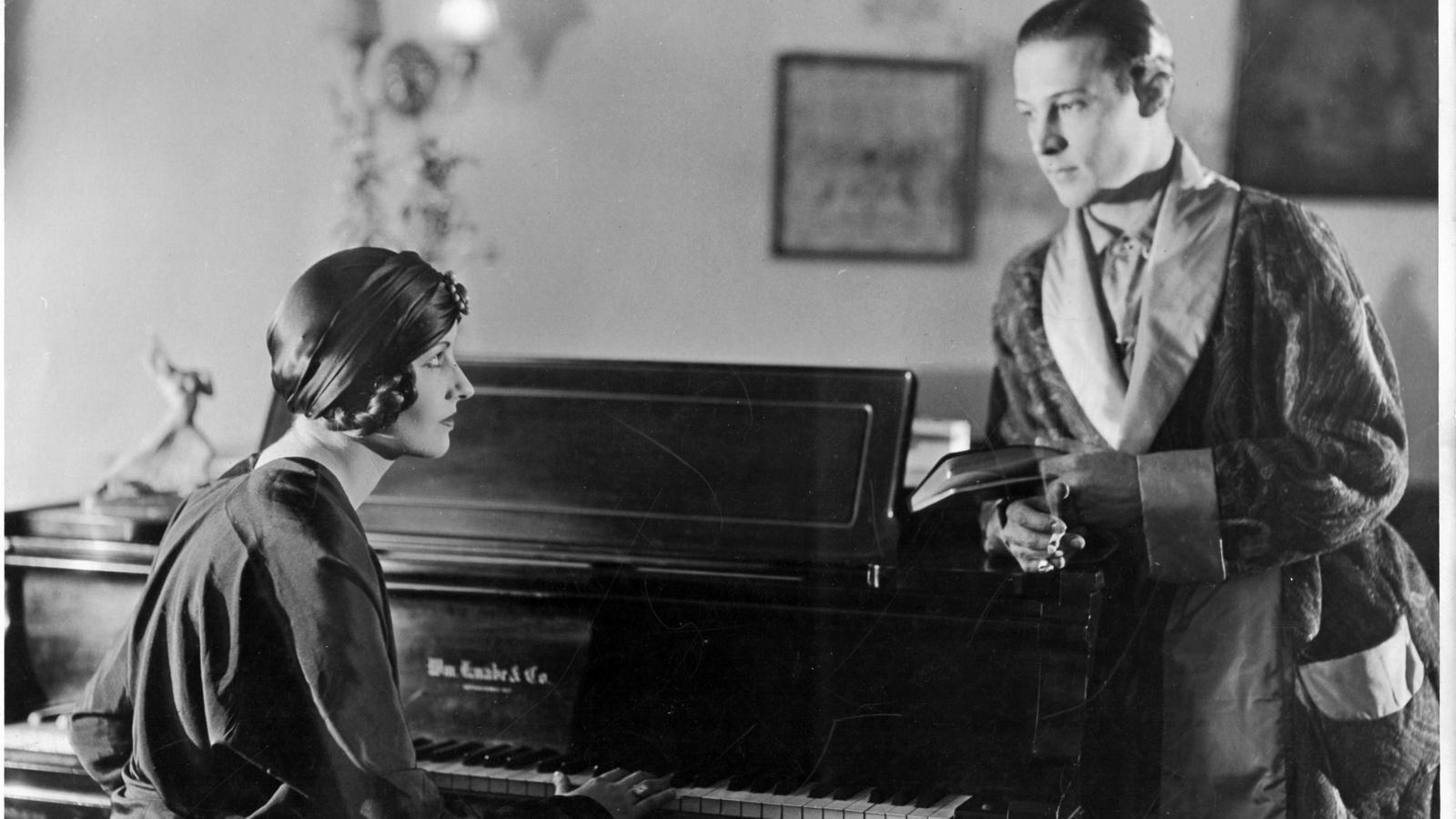 Natacha i Rodolfo Valentino.