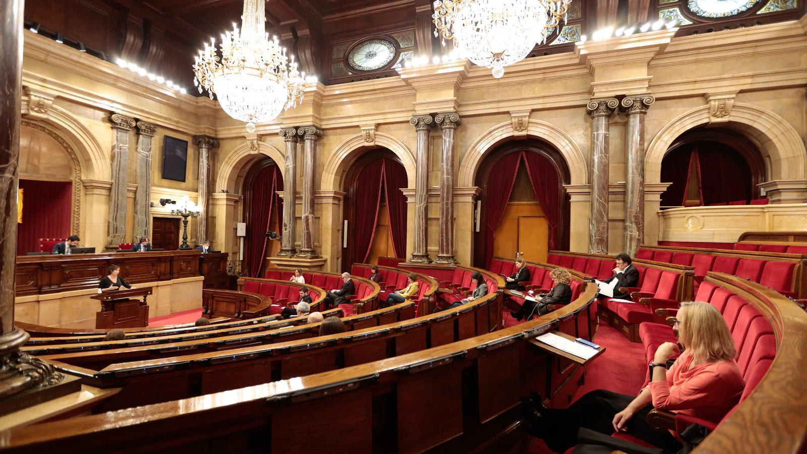 Els dos milions d'euros del Parlament contra el covid-19 seran per a hospitals i centres de recerca