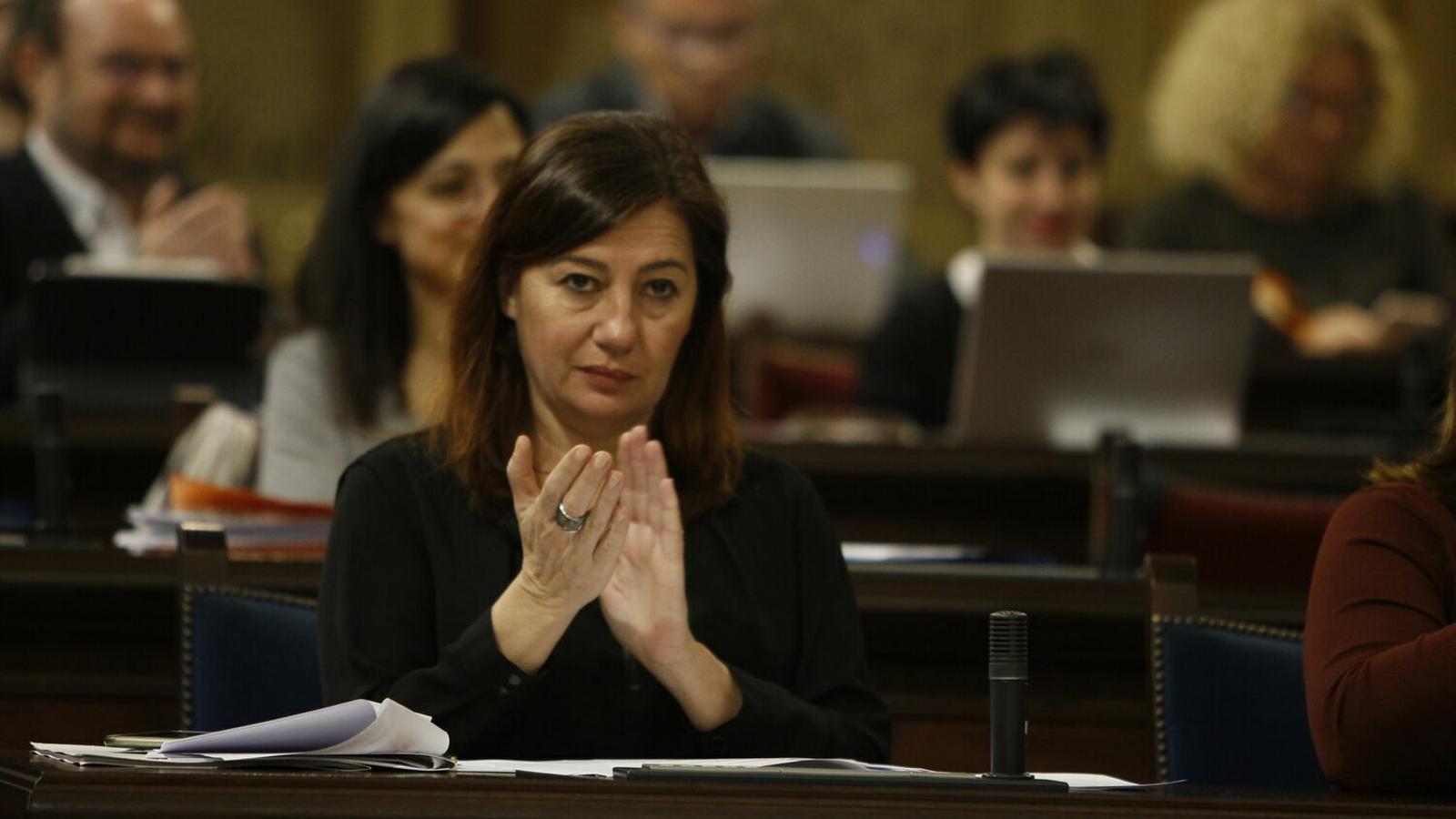 Francina Armengol, en una imatge d'arxiu.