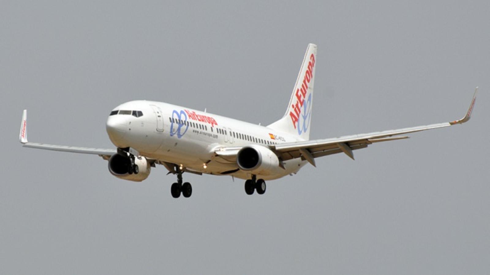 Un avió d'Air Europa / AIR EUROPA
