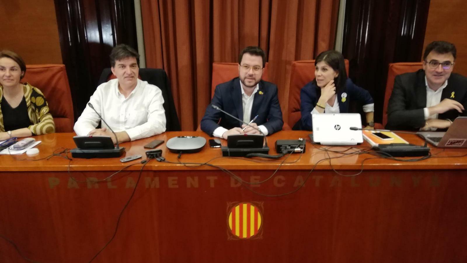 """ERC ratifica el veto a Iceta: """"Quan respectin Catalunya i seguin a negociar podrem parlar de tot"""""""