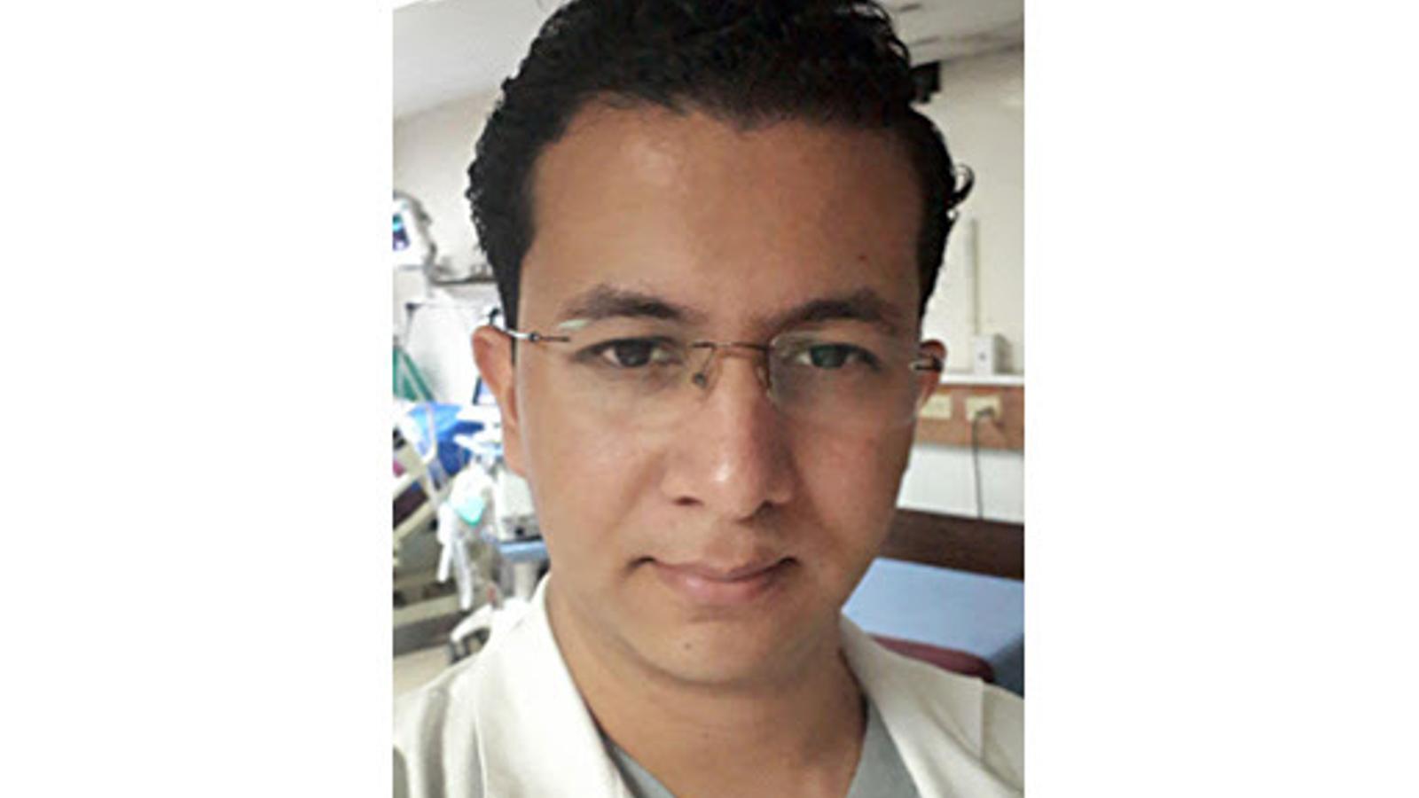 """El doctor Juan Carlos García, en una foto d'arxiu: """"Si aproven el meu títol estic disposat a fer els torns que calguin i quan calguin, i si volen, d'immediat"""""""
