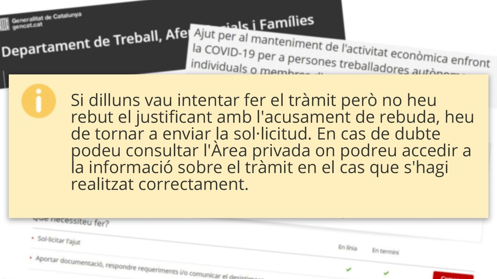 L'anàlisi d'Antoni Bassas: 'Web penjada, autònoms penjats, país penjat'