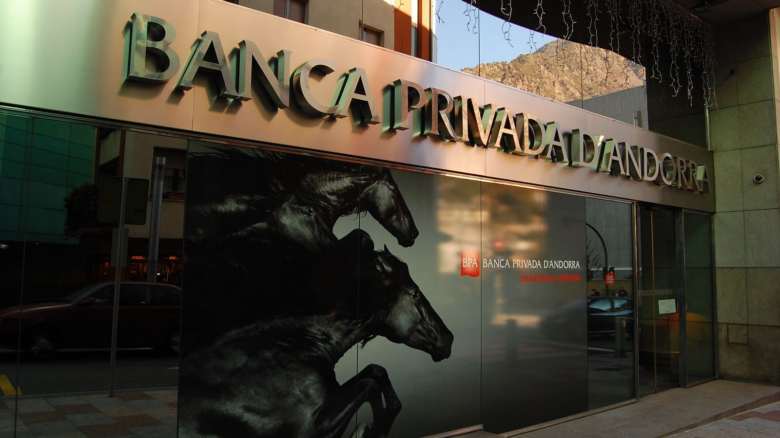 Oficina de Banca Privada d'Andorra. / ARXIU ARA
