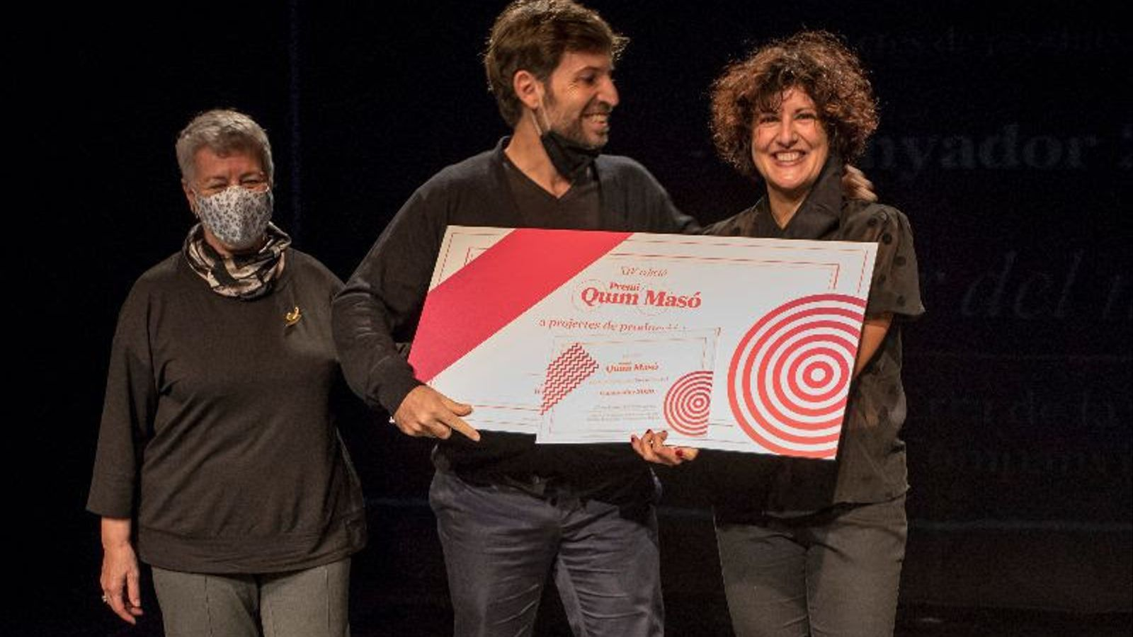 La Danesa guanya el Premi Quim Masó amb l'adaptació d''El nedador del mar secret'