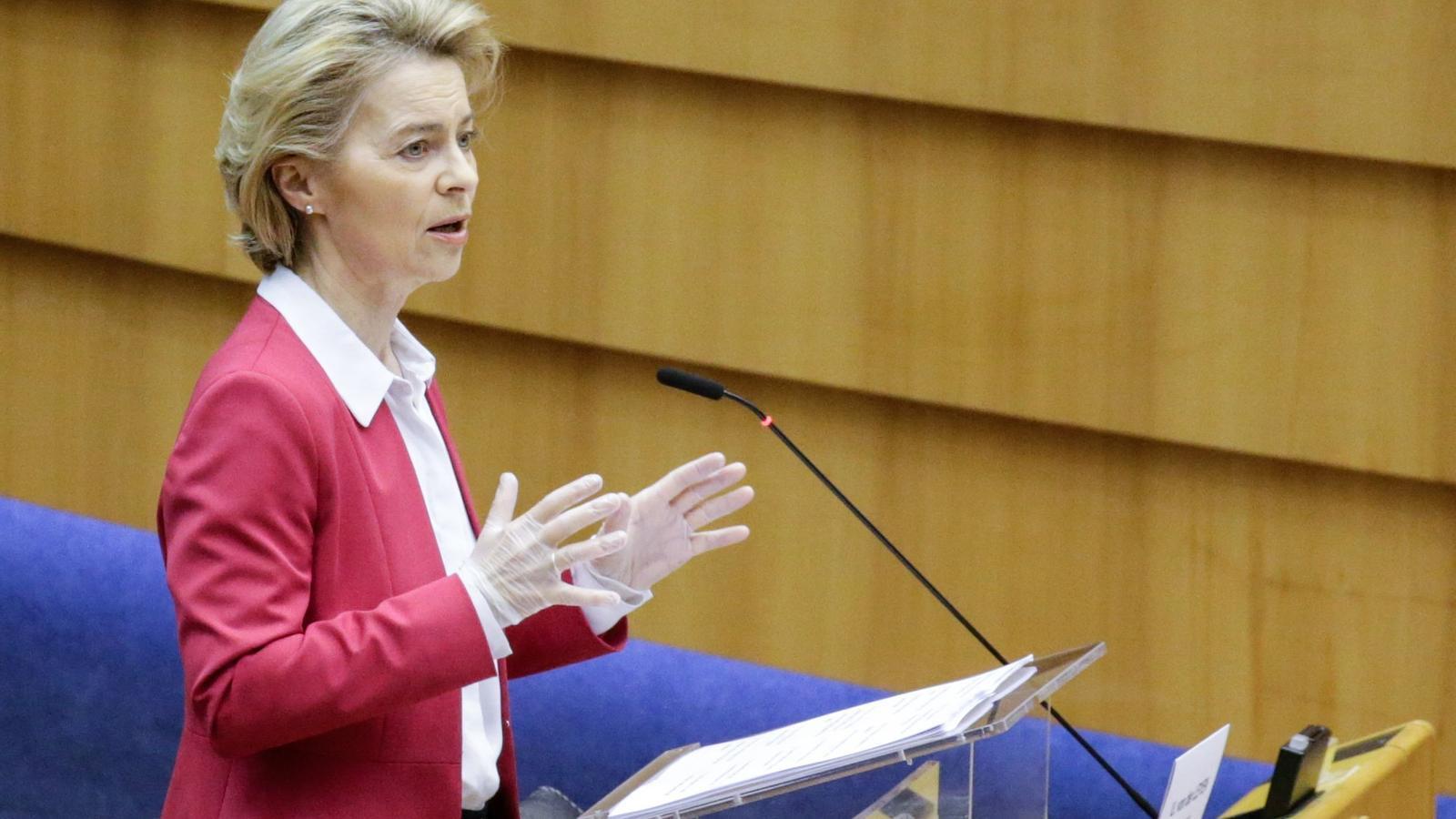 EN DIRECTE | La presidenta de la CE, Ursula von der Leyen, fa el discurs sobre l'estat de la Unió al ple del Parlament Europeu