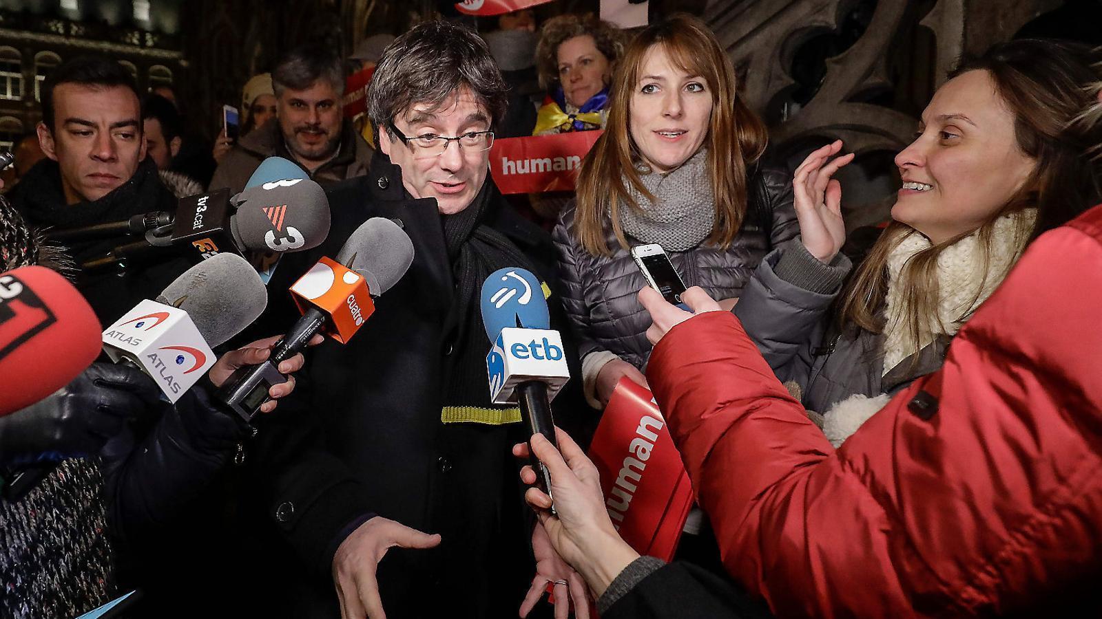 JxCat només s'obrirà a un pla B si ERC intenta investir Puigdemont