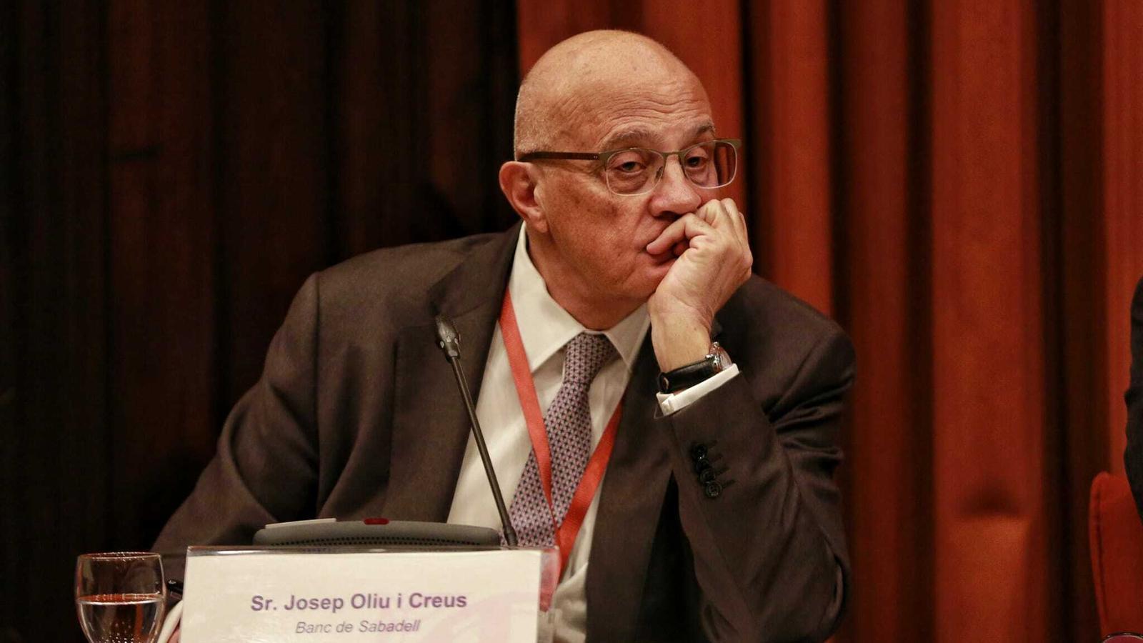 Josep Oliu, president del Banc Sabadell