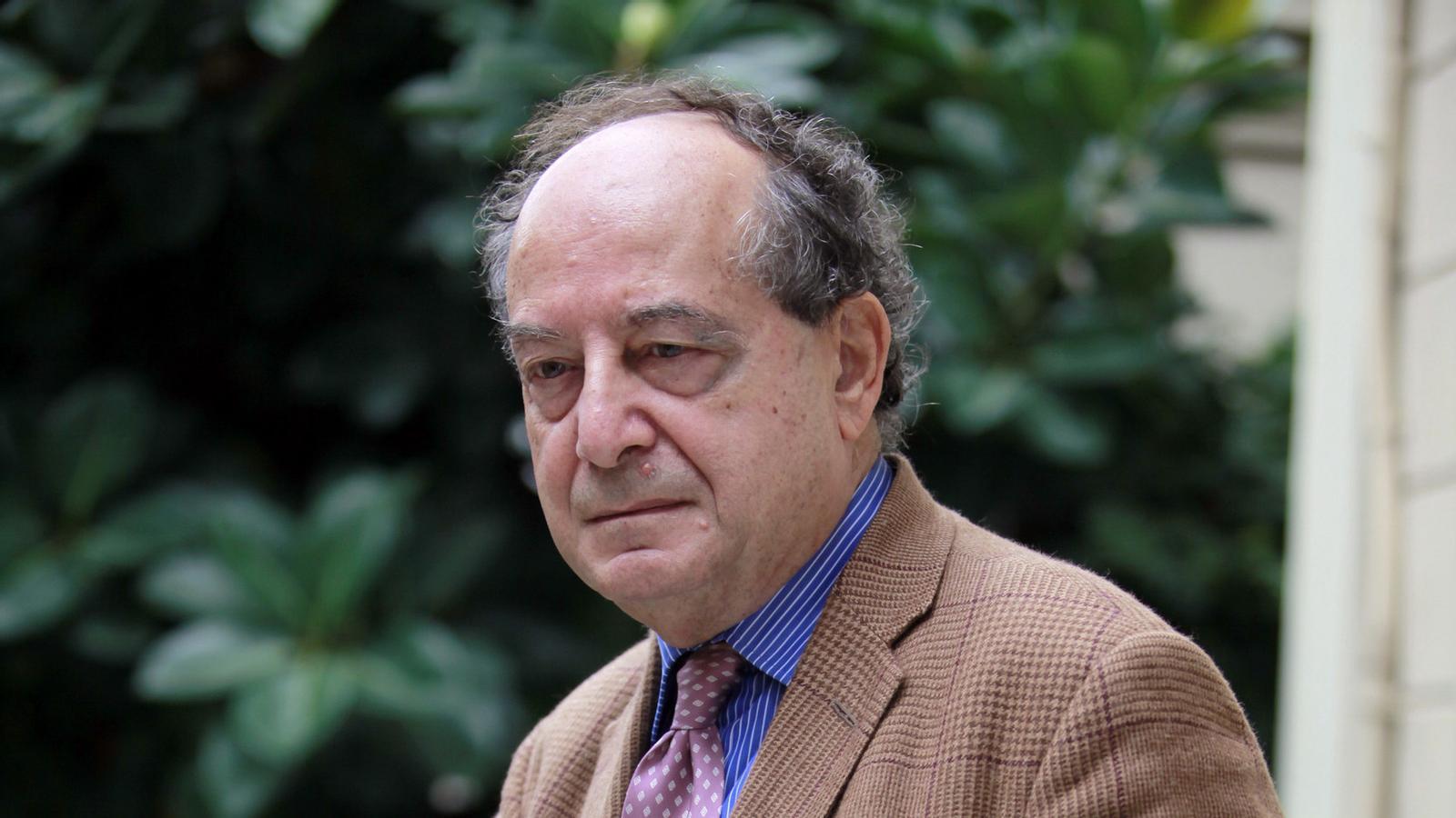 El pessimisme sobre el futur de l'edició s'ha apoderat de Roberto Calasso.