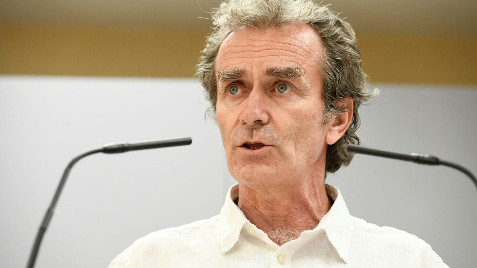 Roda de premsa del director del Centre de Coordinació d'Alertes i Emergències Sanitàries, Fernando Simón.