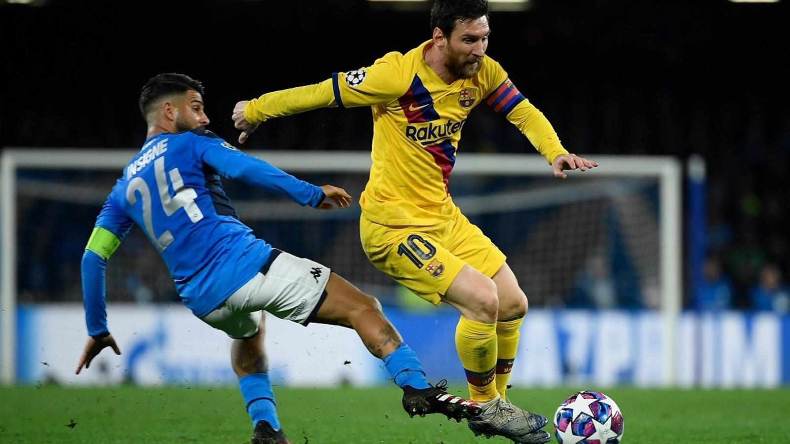 Messi, un esforç titànic sense premi a San Paolo