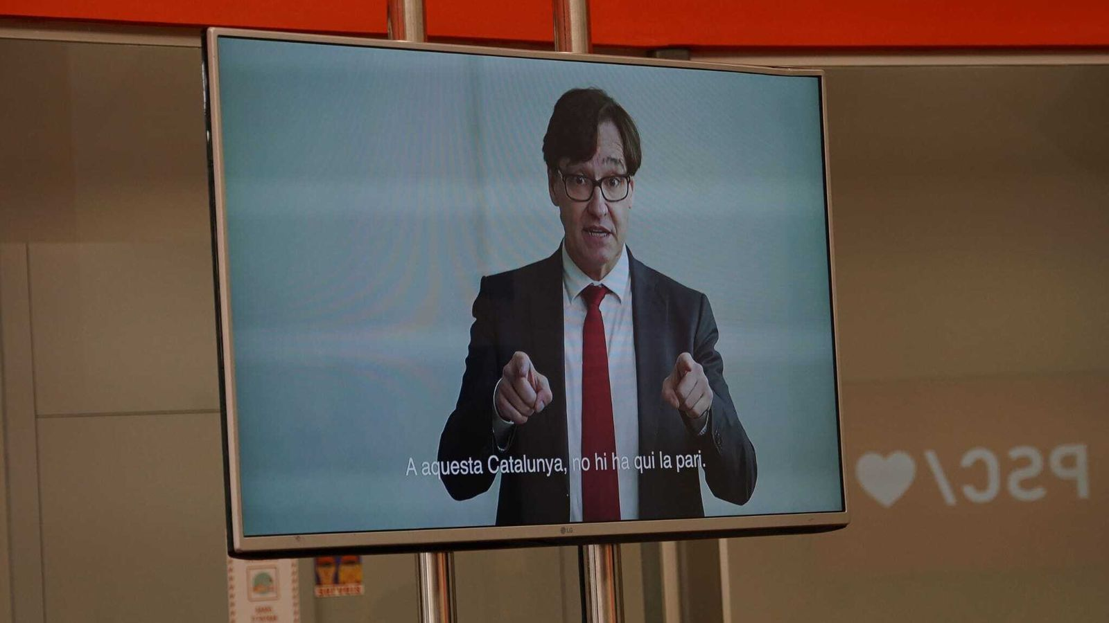El PSC ha presentat un vídeo electoral amb Illa de protagonista
