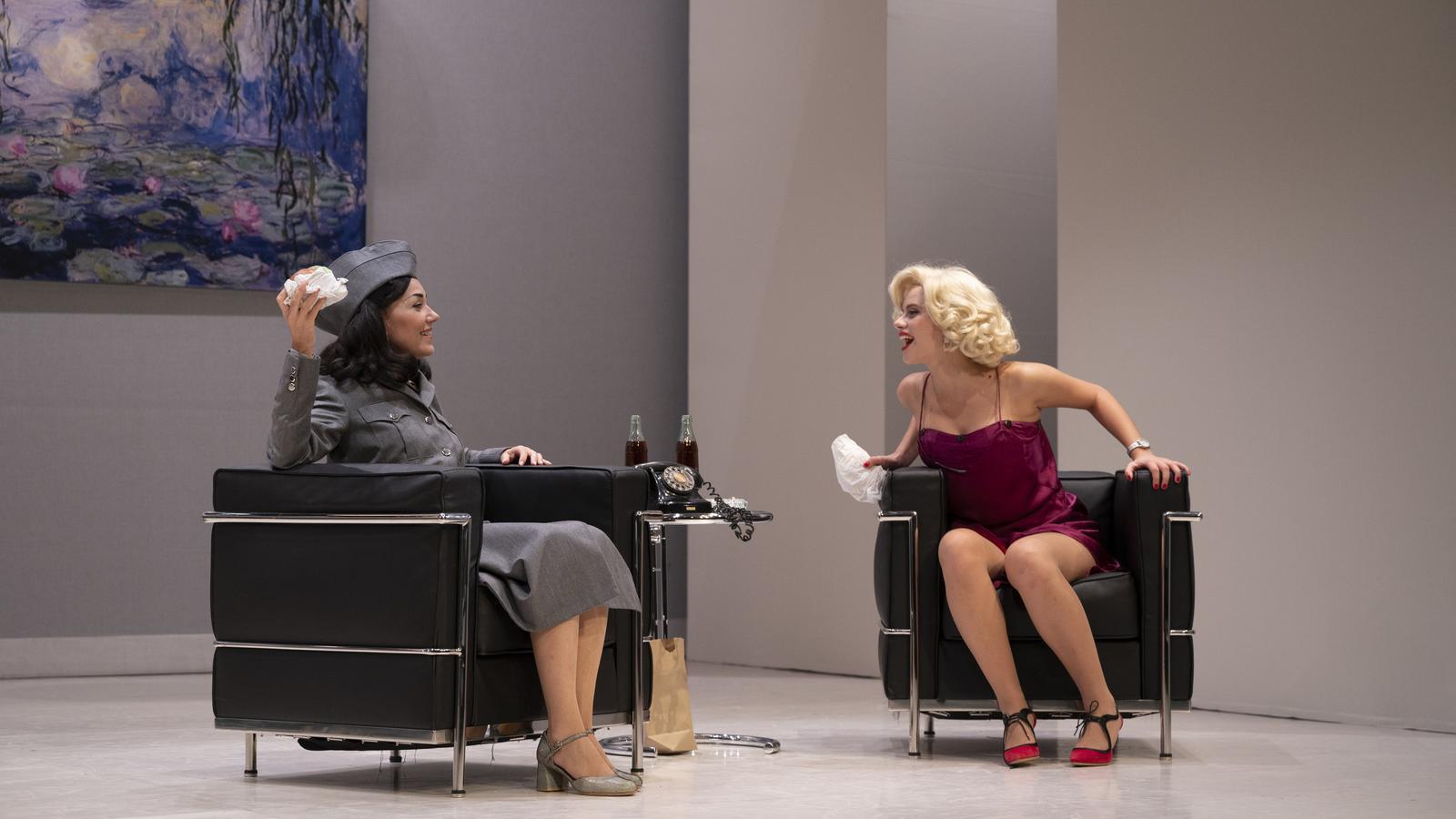 Un moment de 'Monroe-Lamarr'