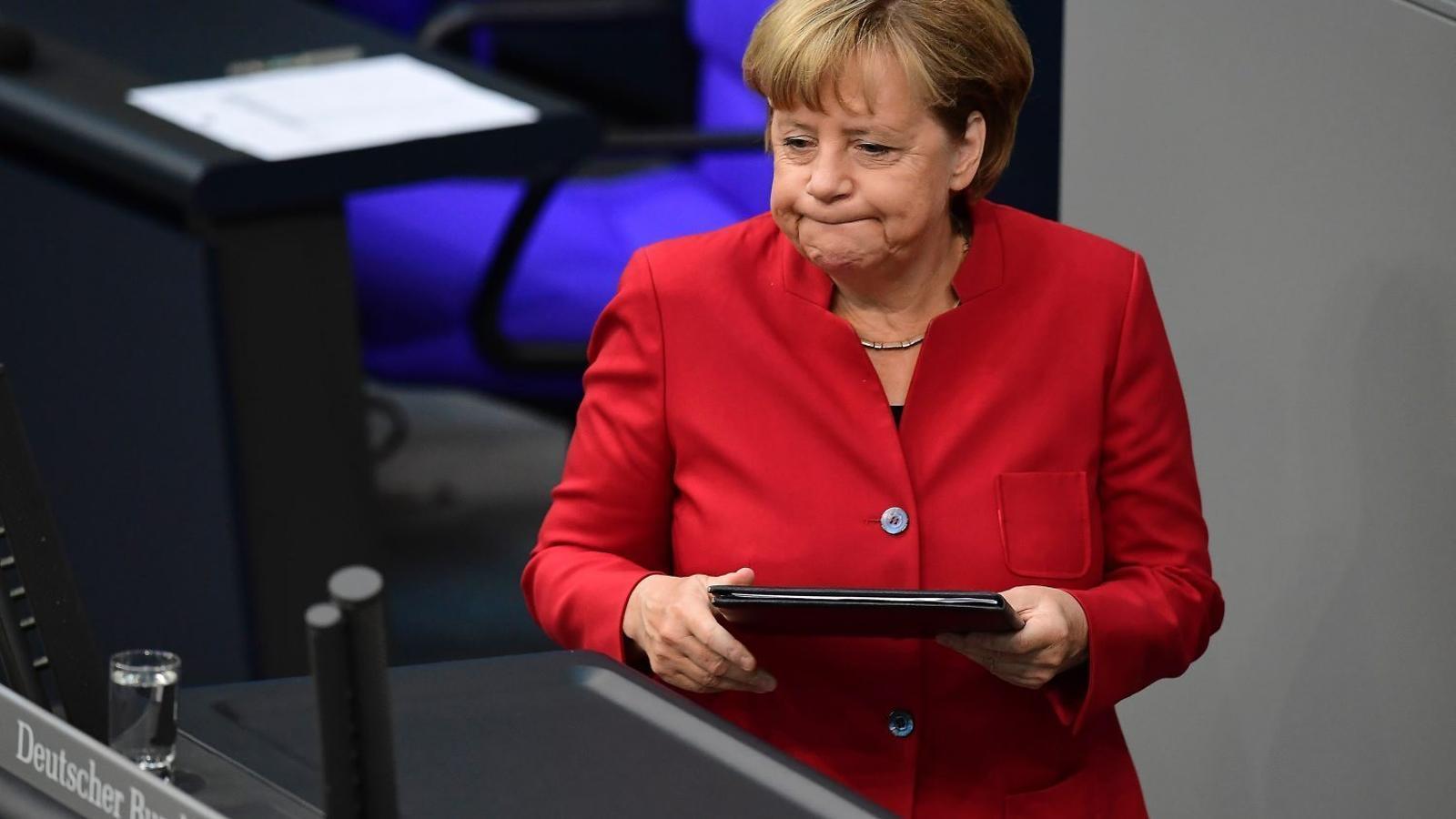 Merkel crida a l'ordre   Els seus socis bavaresos