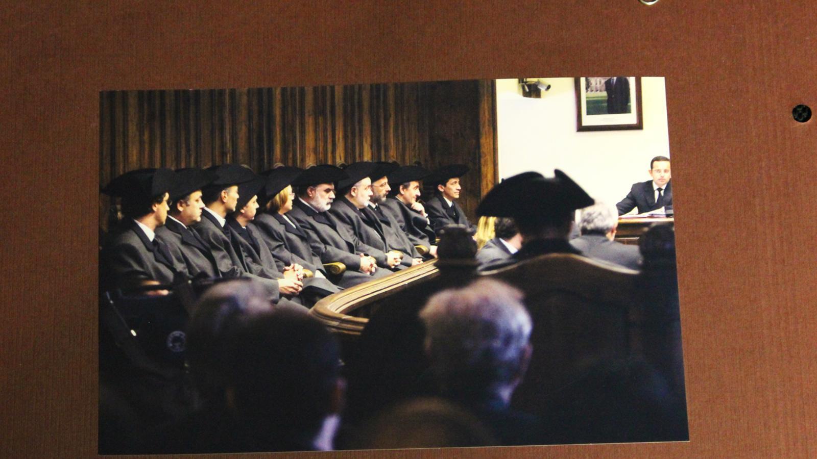 Fotografia d'una sessió de Consell General a la Casa de la Vall durant la tercera legislatura. / CONSELL GENERAL