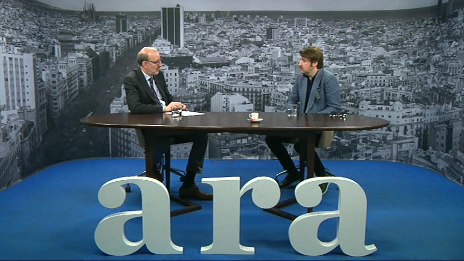 Entrevista d'Antoni Bassas a Albert Serra