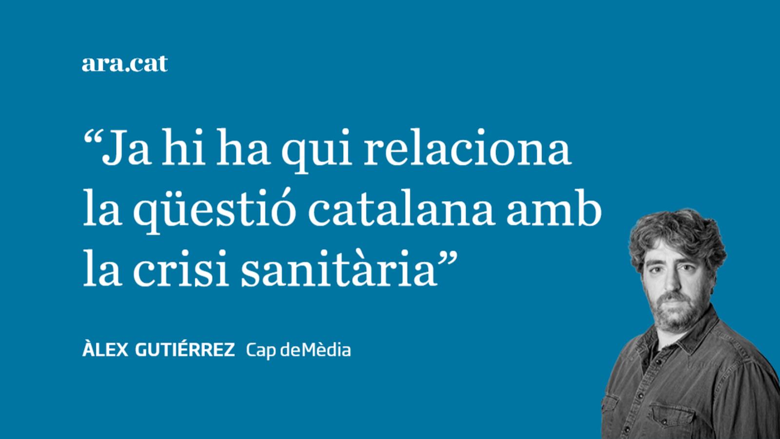 La culpa dels estralls del coronavirus, dels catalans