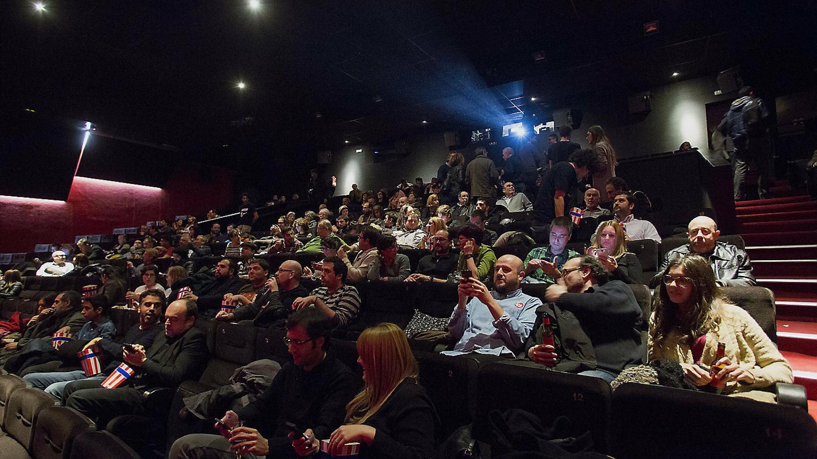 Imatge d'arxiu d'una sala de cinema a Barcelona.
