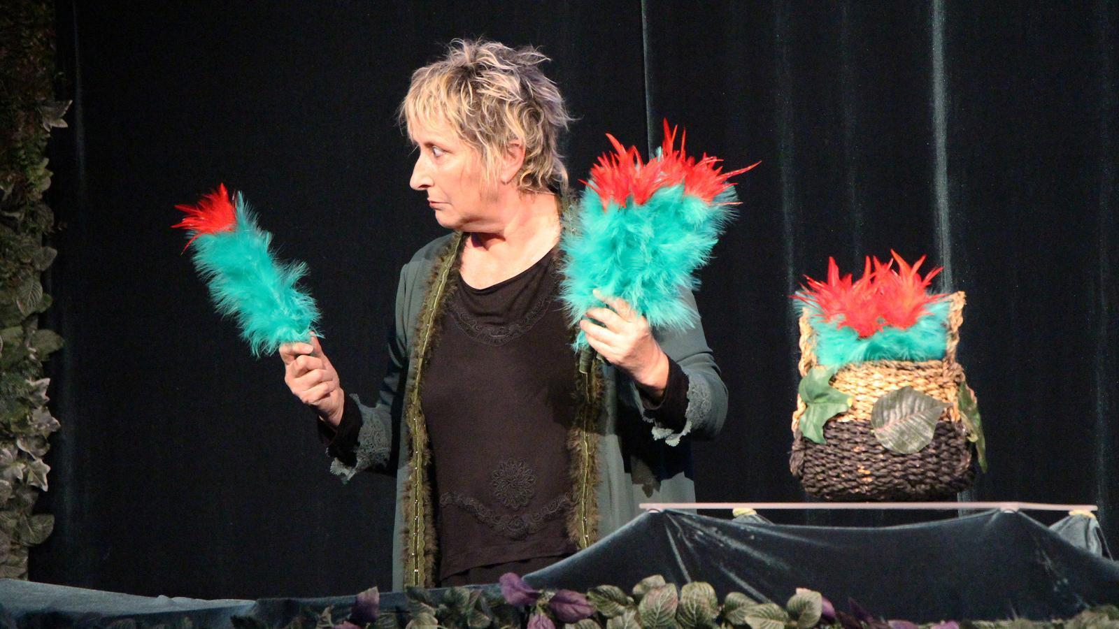 Espectacle 'Tropic' de Teia Moner, aquest diumenge. / C. F. (ANA)