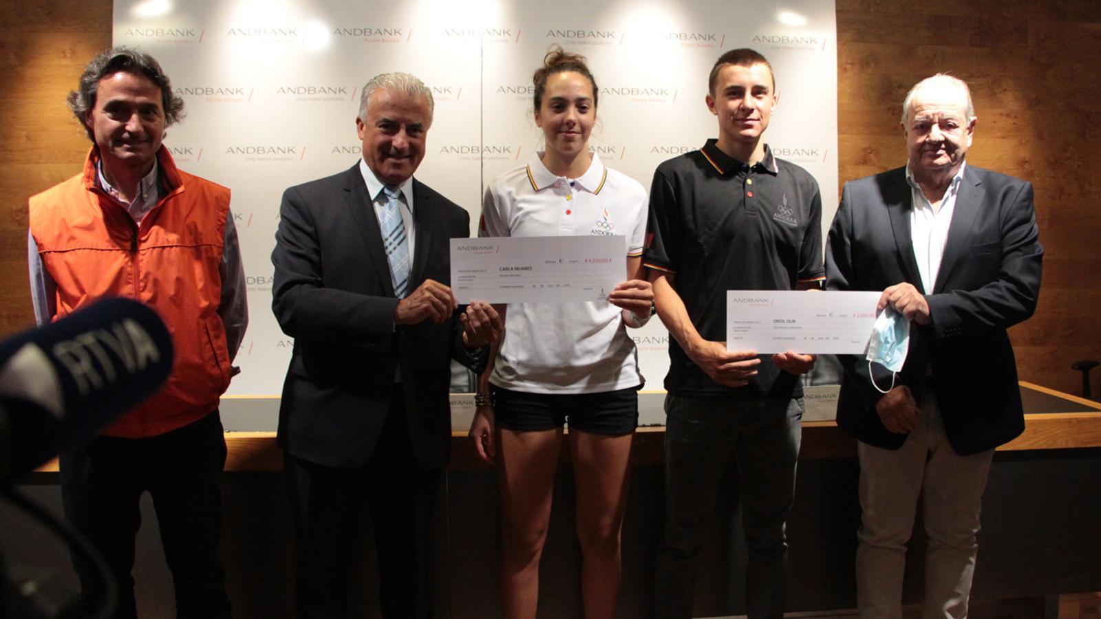 Premien Carla Mijares i Oriol Olm pel seu paper als Jocs Olímpics de la Joventut
