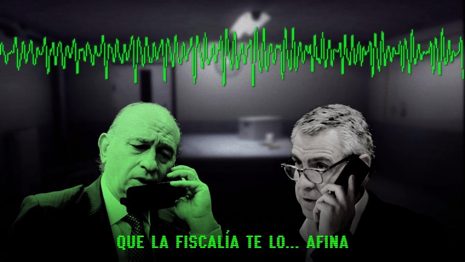 L'extracte de les converses de Fernández Díaz que ha mostrat Gabriel Rufián al Congrés