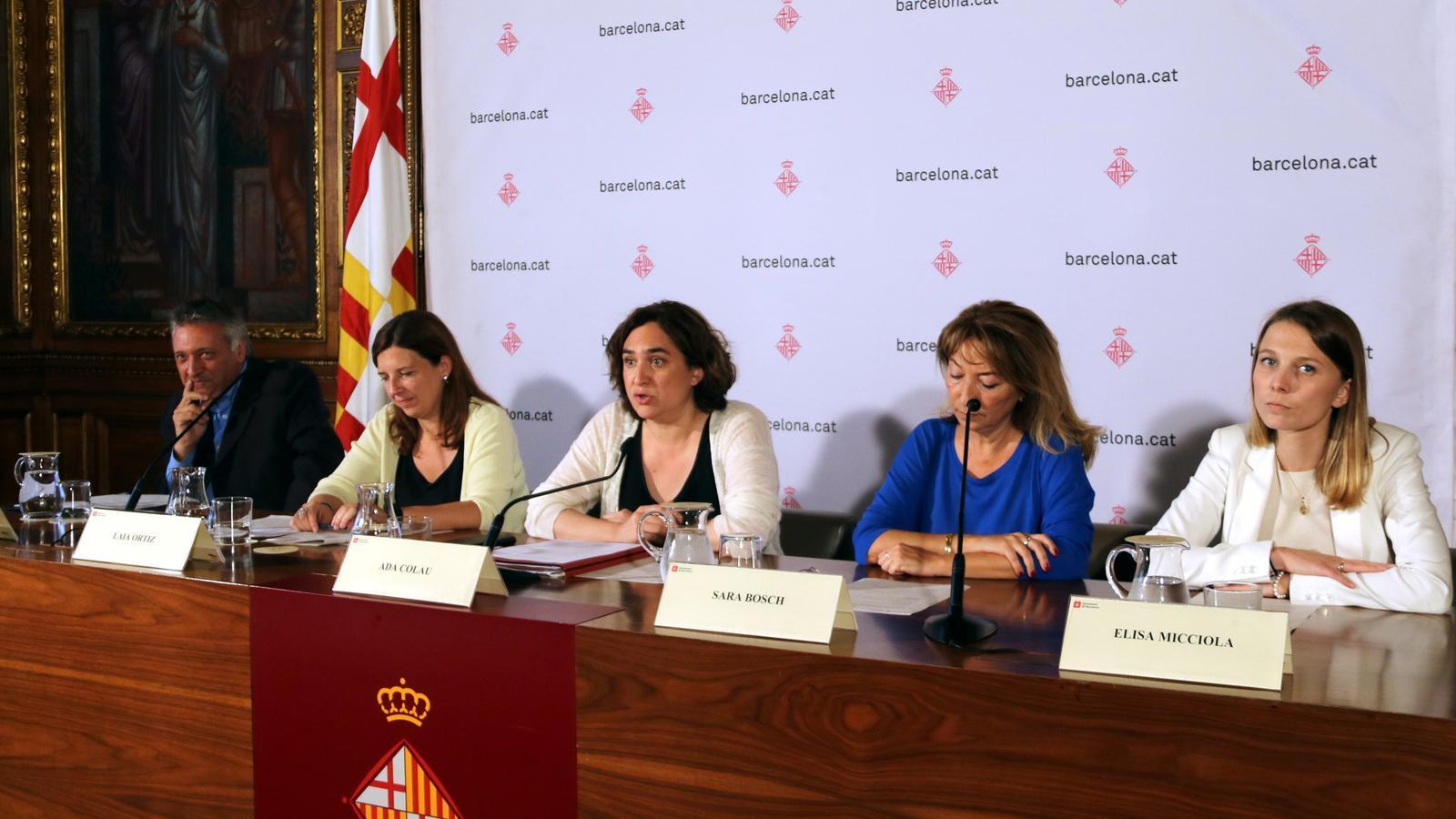 Barcelona destinarà 80.000 euros a assessorar víctimes de l'atemptat a la Rambla