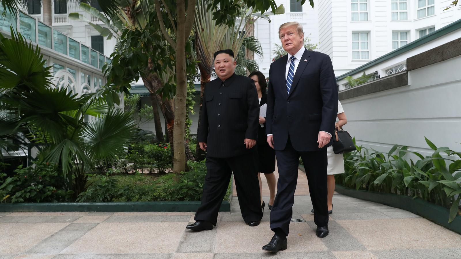 Fracassa la cimera de Trump i Kim Jong-un a Hanoi