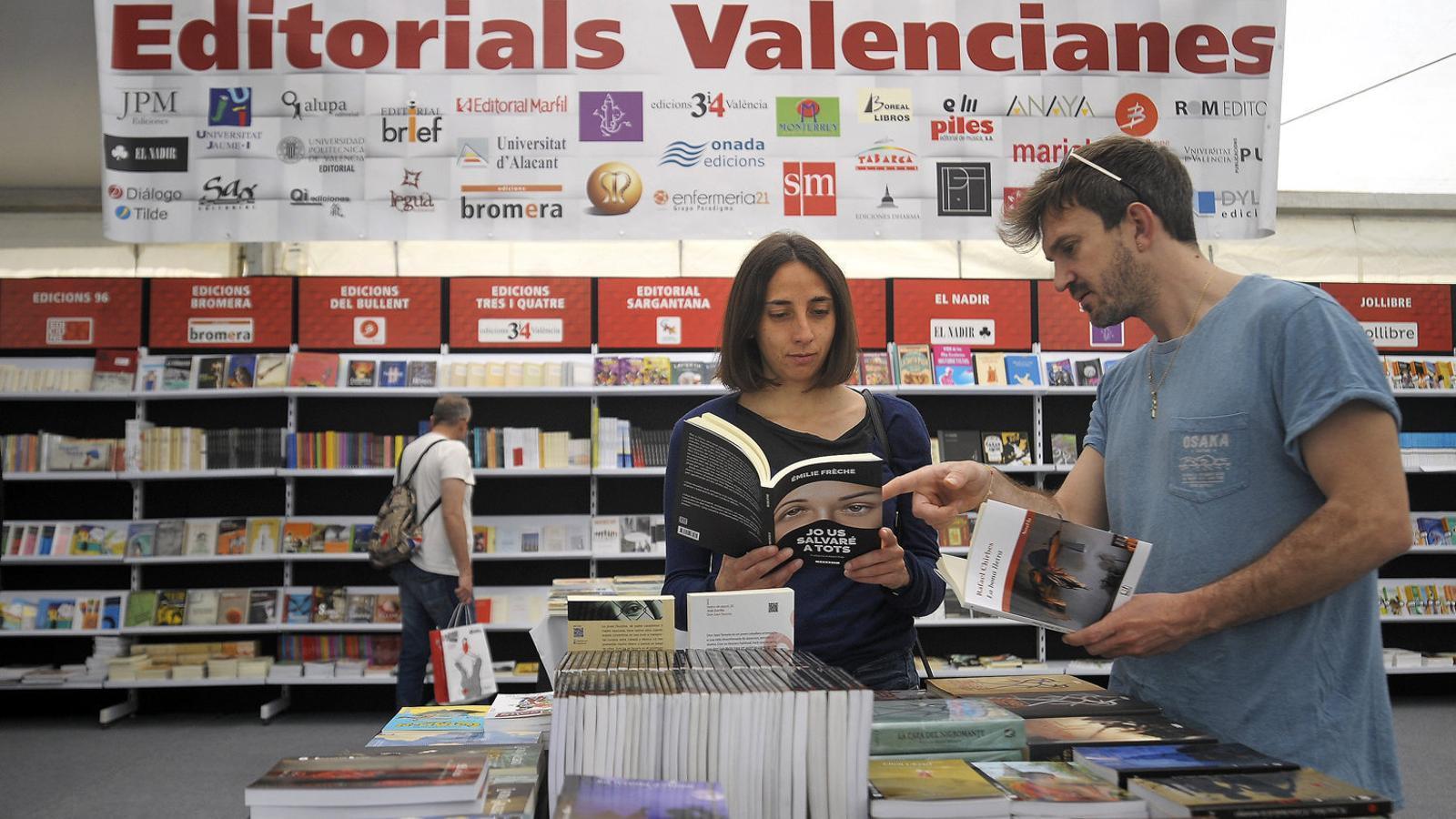 El llibre en valencià no alça el vol