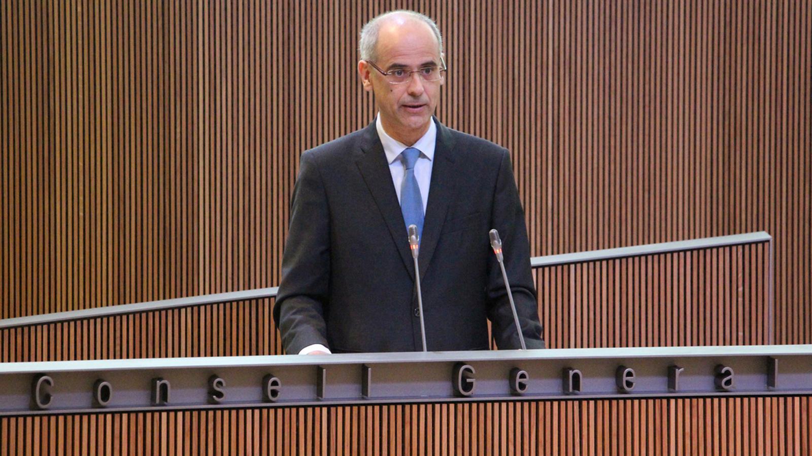 El cap de Govern, Toni Martí / ANA