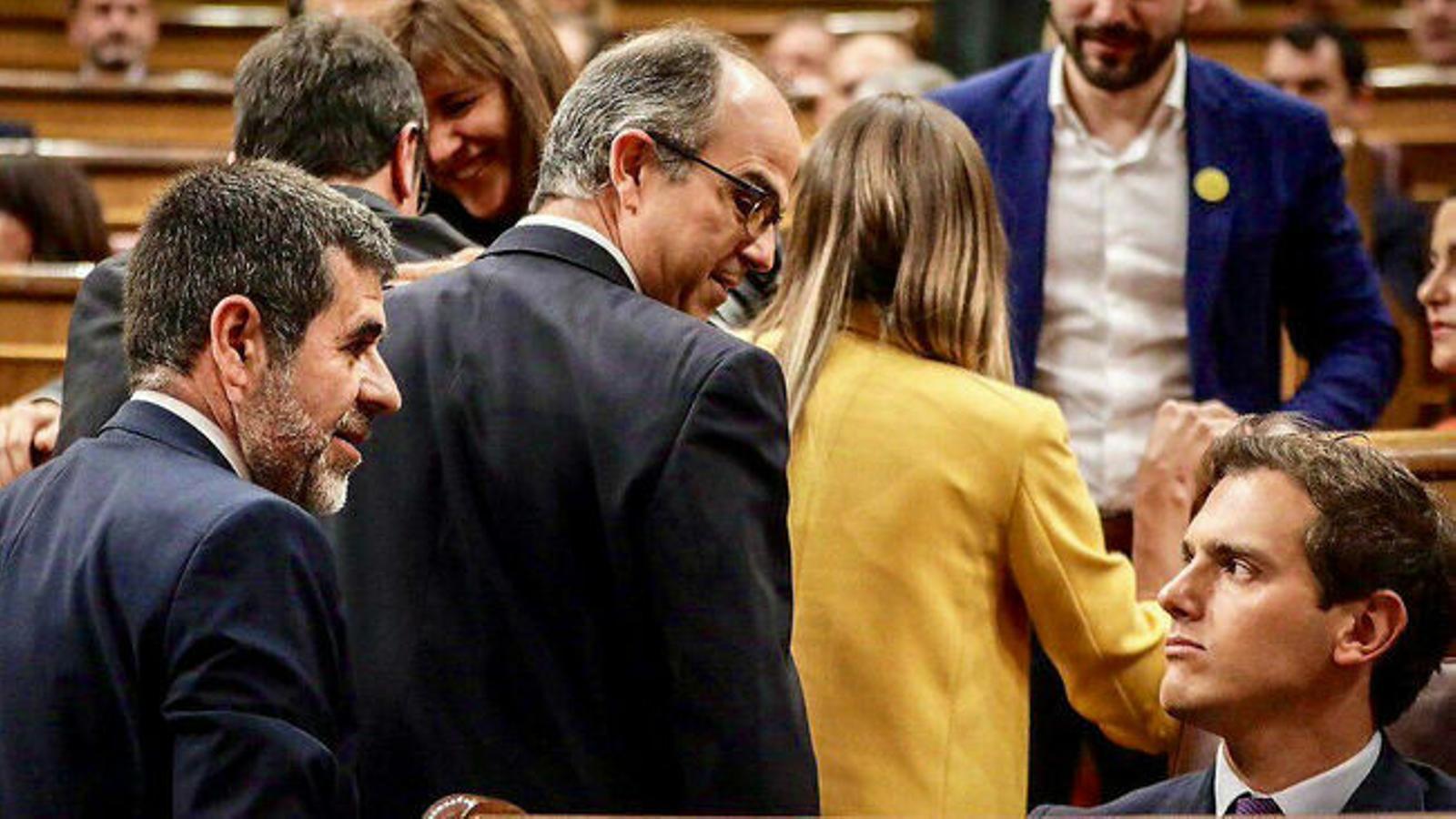 El protagonisme dels presos al Congrés enerva Cs, el PP i Vox