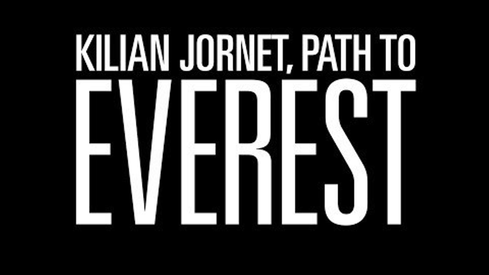Kilian Jornet presenta 'Path to Everest', la pel·lícula que narra la seva doble ascensió a l'Everest