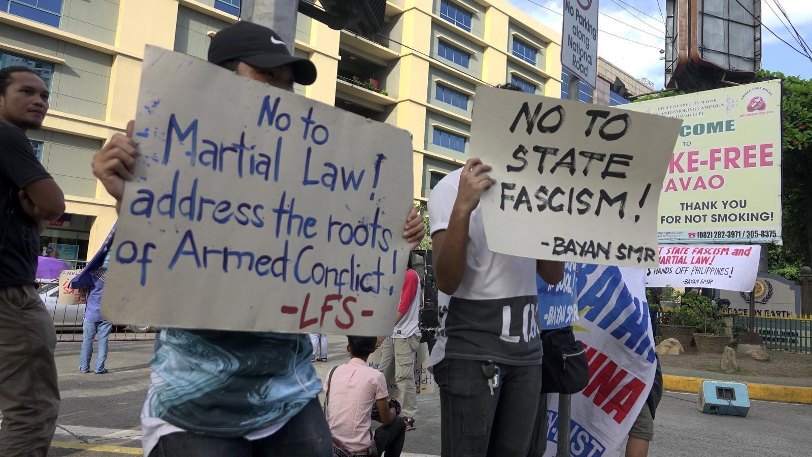 Les Filipines combaten el terror jihadista