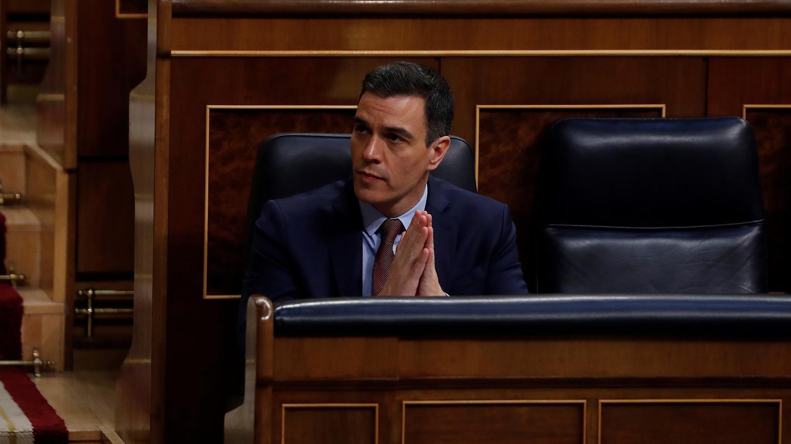 EN DIRECTE | El Congrés debat la cinquena pròrroga de l'estat d'alarma
