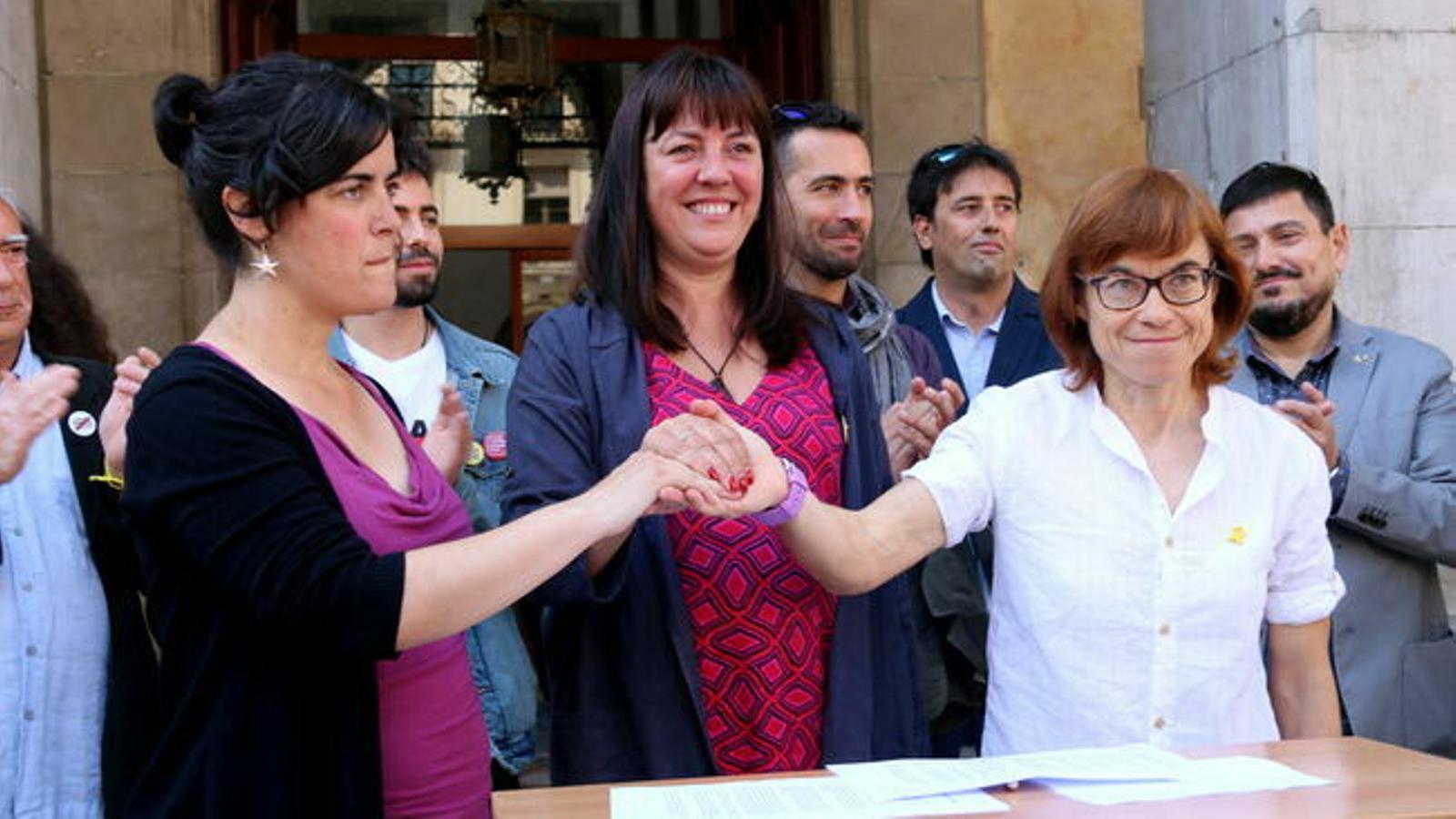 ERC, JxCat i la CUP tanquen un preacord de govern a Vilanova i la Geltrú
