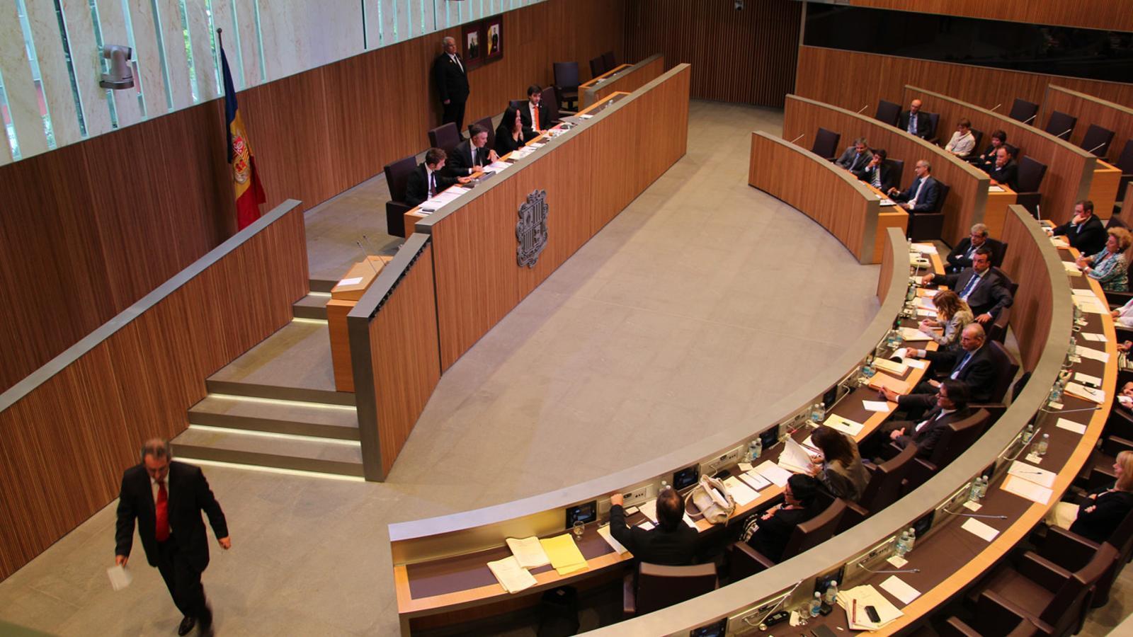 El Consell General el setembre del 2014, quan es va aprovar la llei/ ANA