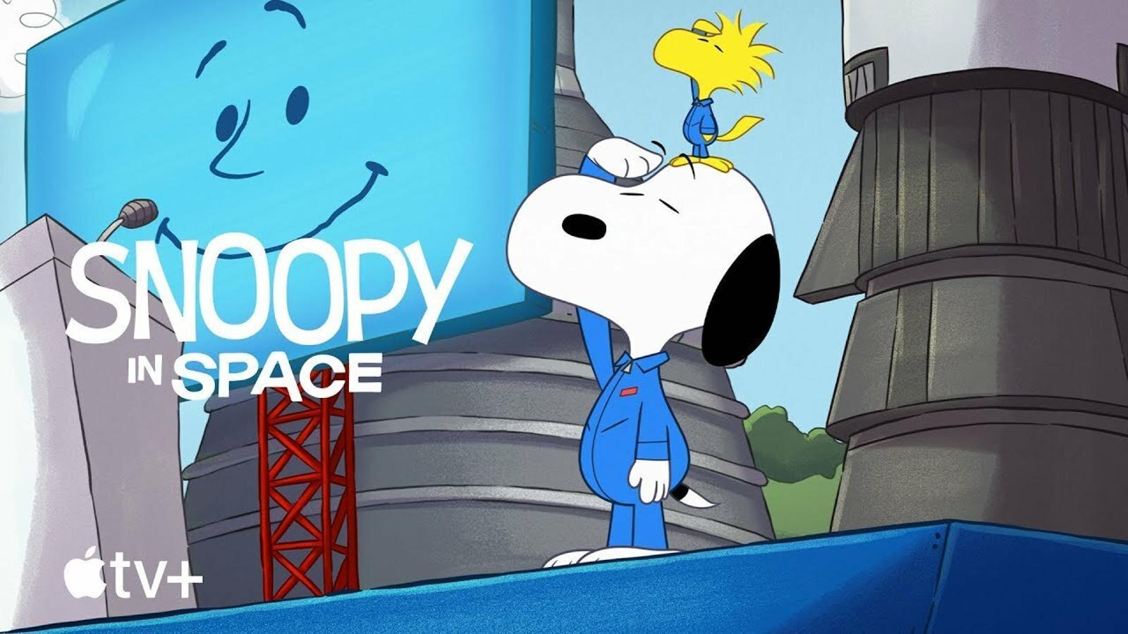 Tràiler de 'Snoopy en el espacio'