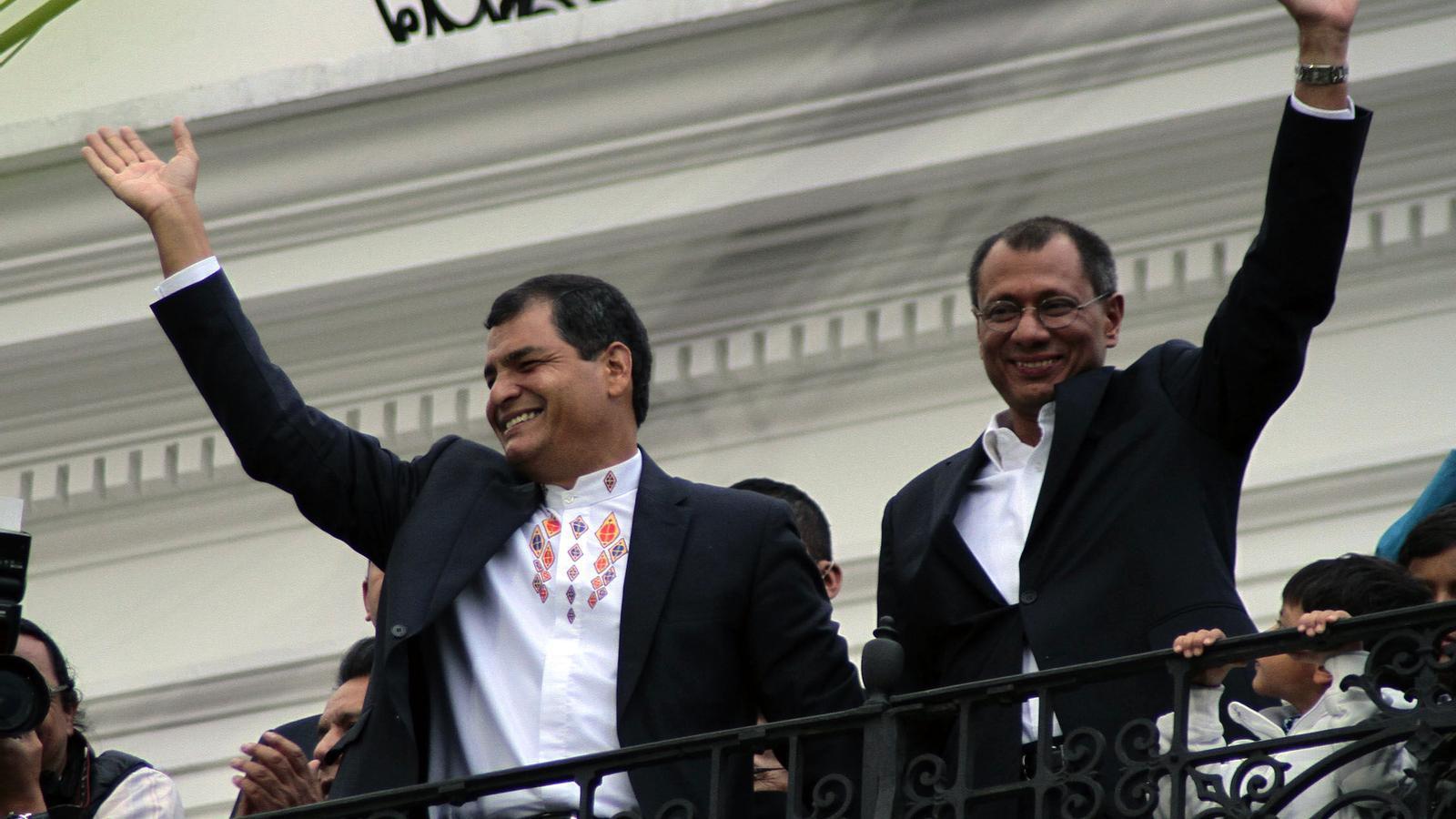 Rafael Correa, reelegit president de l'Equador