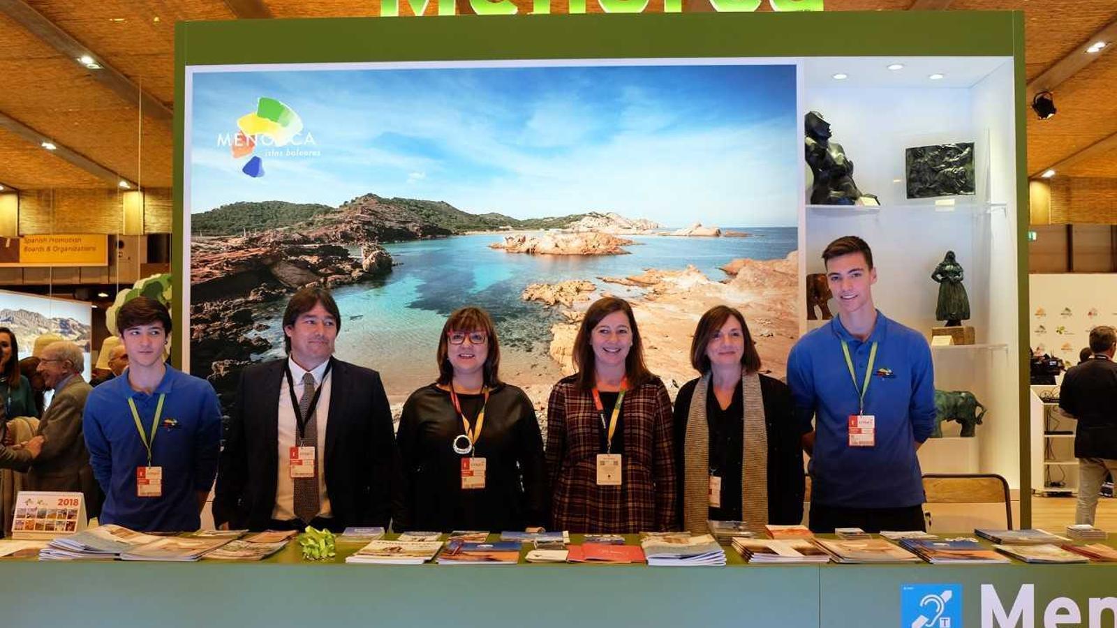 La delegació menorquina afronta amb il·lusió la seva participació en la Fira Internacional del Turisme que se celebra a Madrid fins al diumenge.