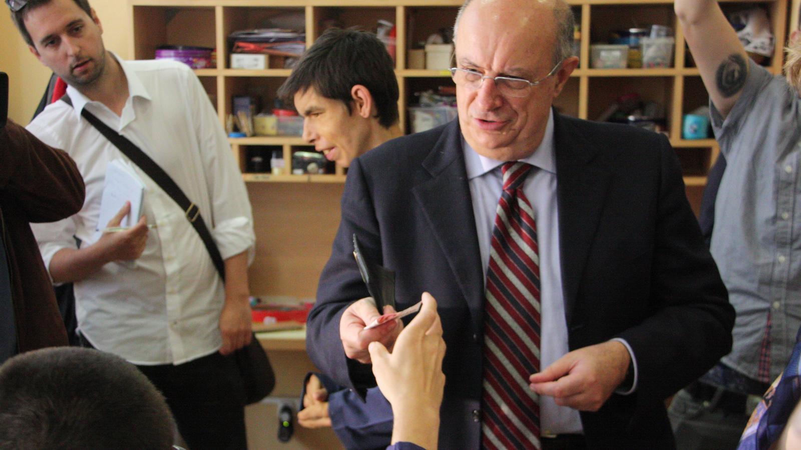 L'eurodiputat del PP Santi Fisas diu que li agradaria que els presos