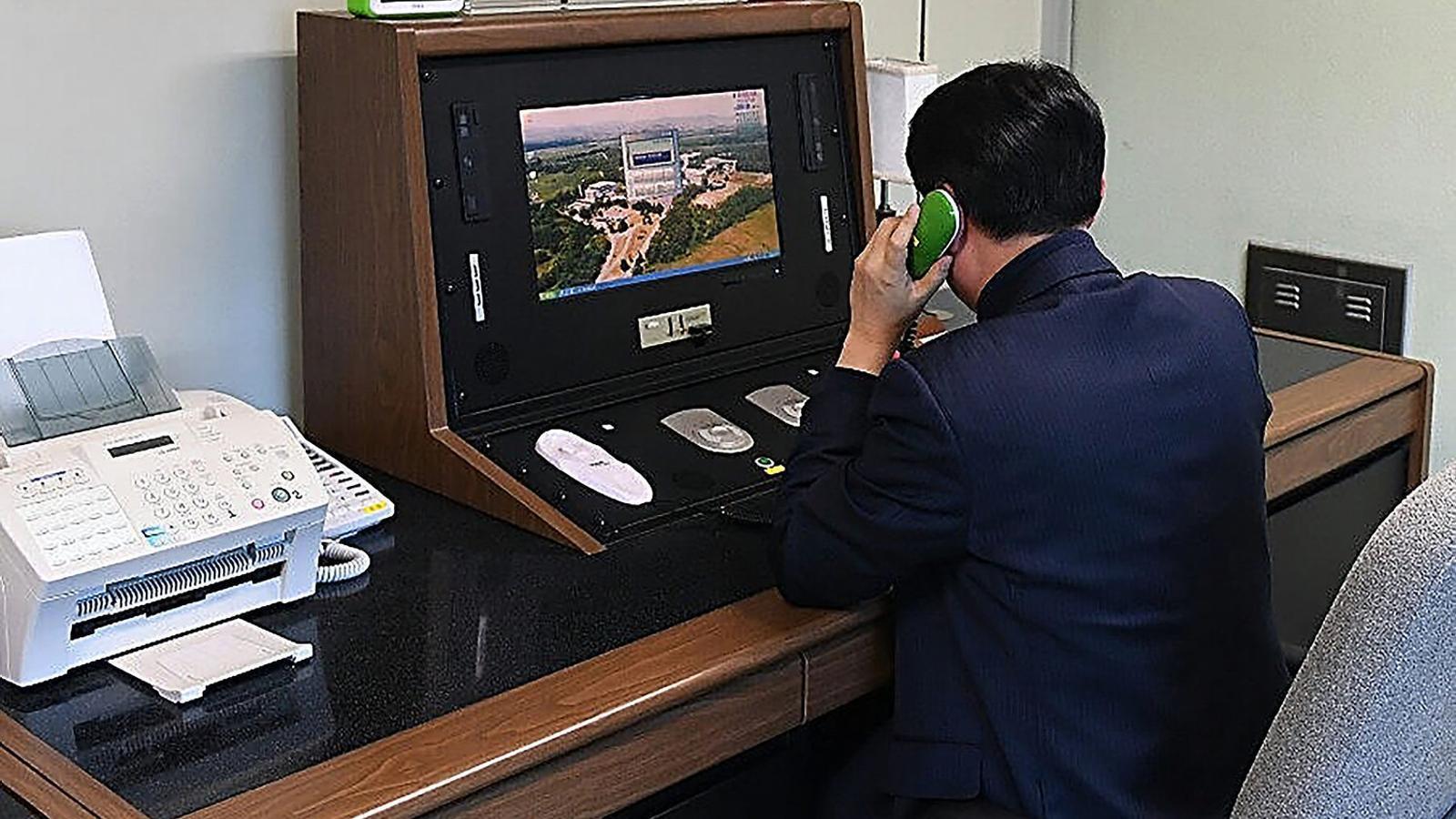 El telèfon vermell entre les dues Corees torna a sonar