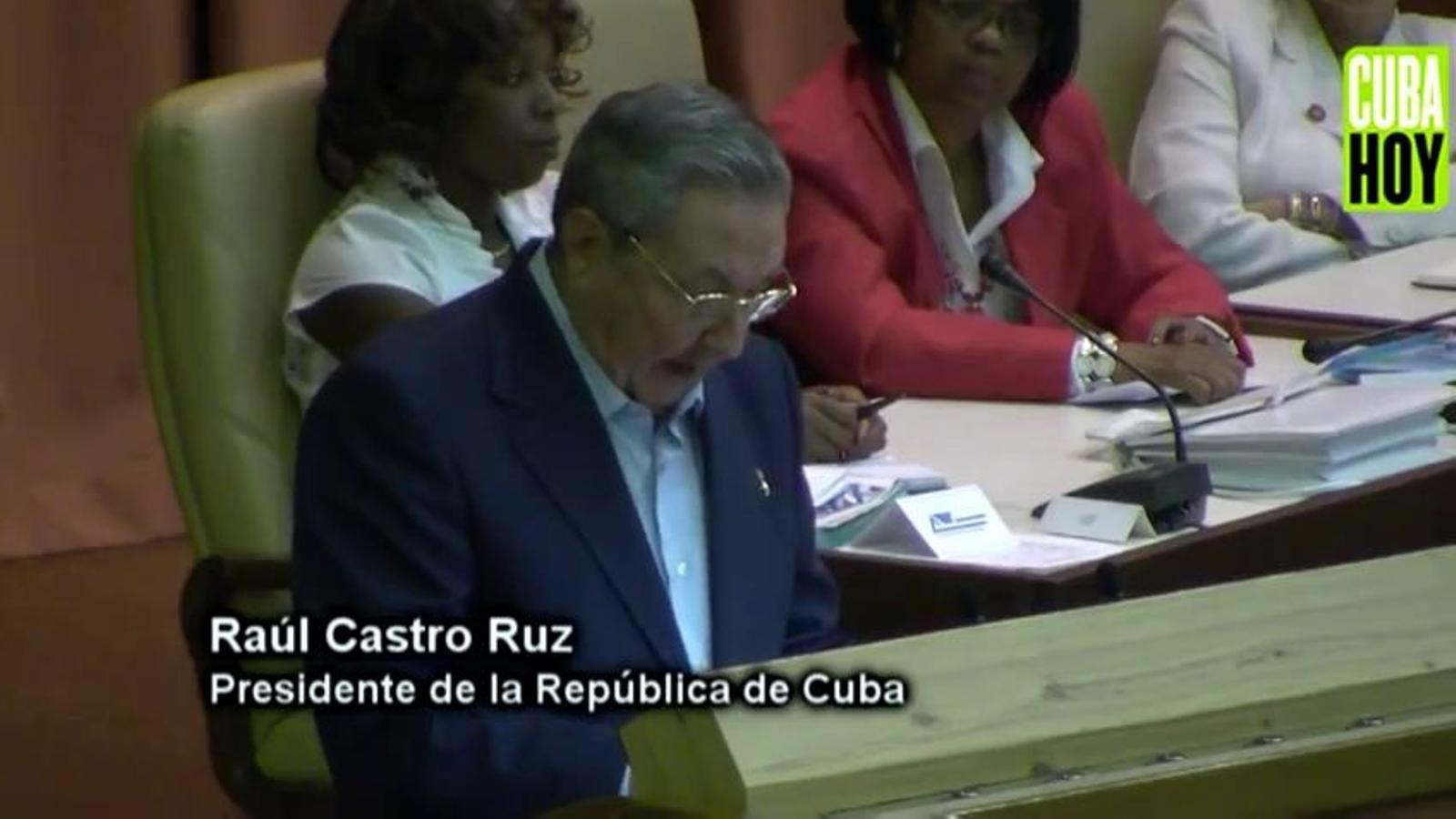 Raul Castro anuncia l'alliberament de 2.900 presos cubans