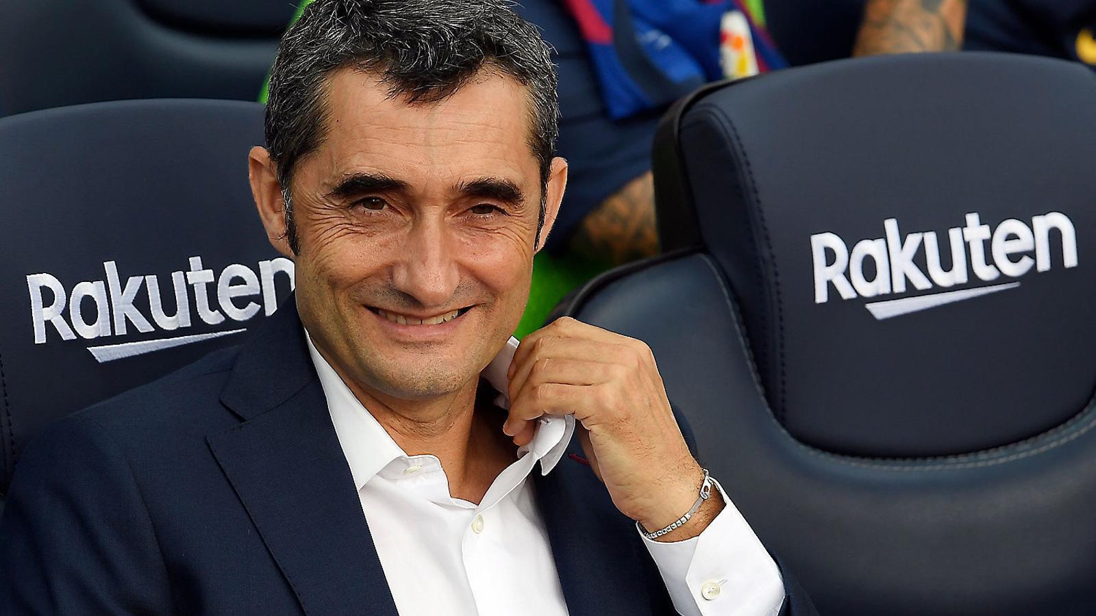 Quin tipus d'entrenador és Valverde?