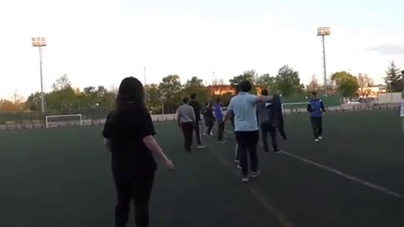 Baralla entre un pare i una mare en un partit de juvenils a Logronyo