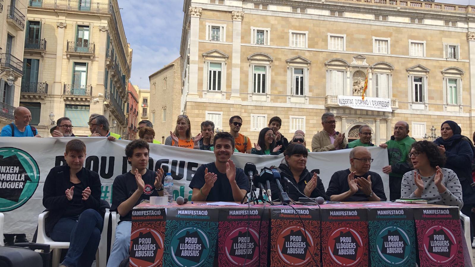 Barcelona clamarà dissabte contra els lloguers abusius