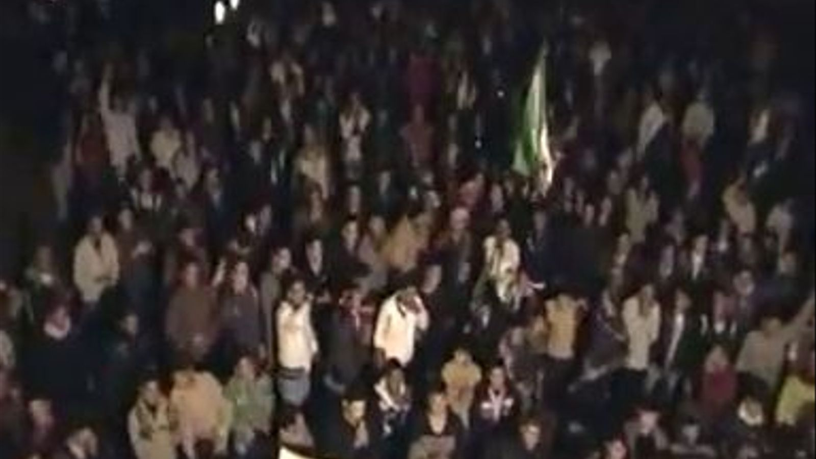 Protesta del vespre per a la Llibertat a Homs