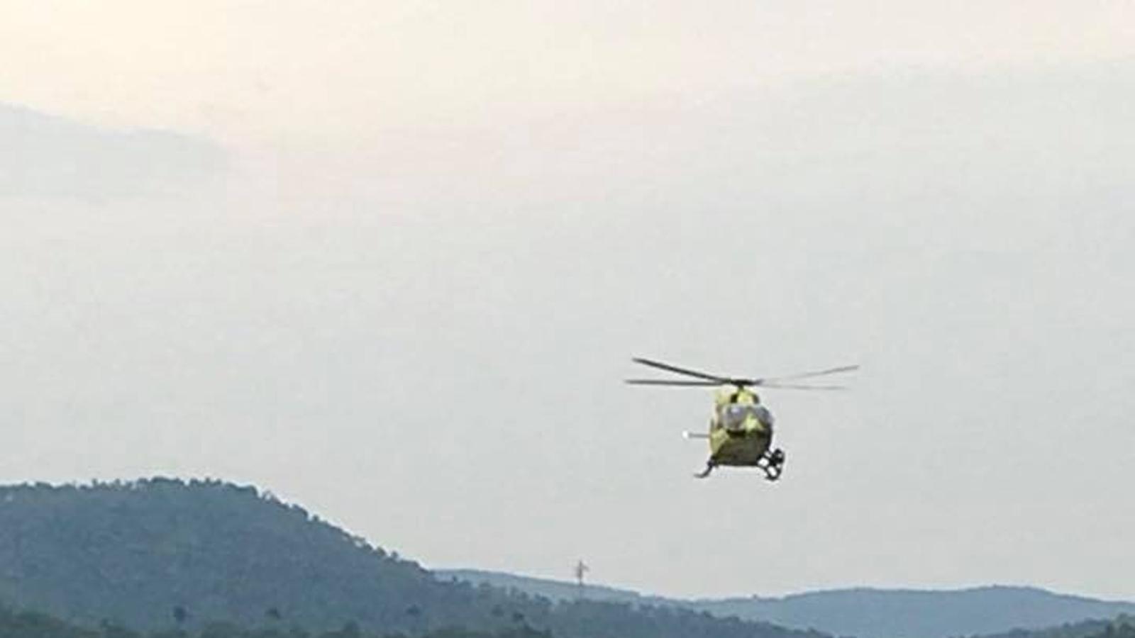 Accident mortal al km. 135 de la C-14, al municipi de Bassella./ Ràdio Seu